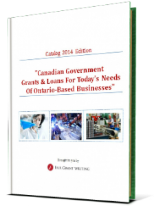 Catalog of Government Grants & Loans